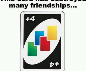 uno, funny, and friendship image