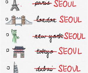 seoul, korea, and kpop image