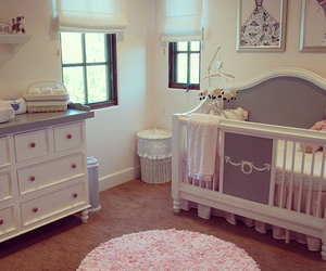 baby, baby girl, and interior design image