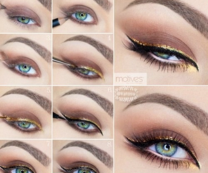 beauty and eyeliner image