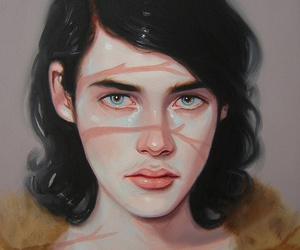 art, faces, and kris knight image
