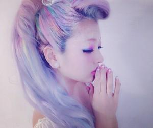 pastel, hair, and kawaii image