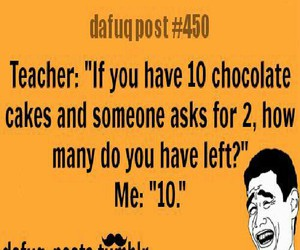 chocolate, funny, and posts image