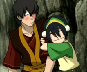 avatar, toph, and zuko image