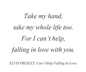 love, quotes, and elvis image