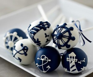 blue, anchor, and food image