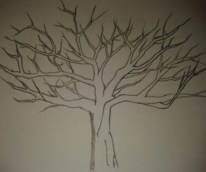 draw, tree, and drawing image