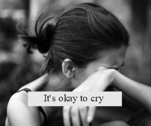 broken, he, and cry image