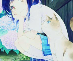 anime, manga, and neko image