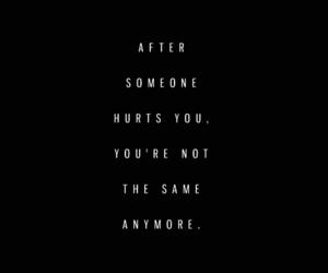 after, hurt, and sad image