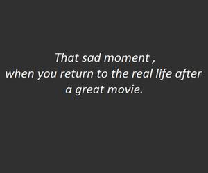movie, sad, and quotes image