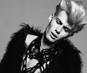 blond boy, blond hair, and model image