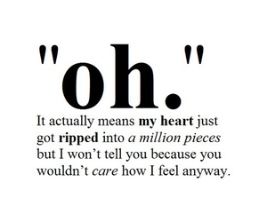 oh, heart, and quotes image