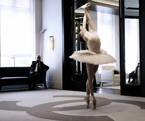 ballerina, chanel, and karl lagerfeld image