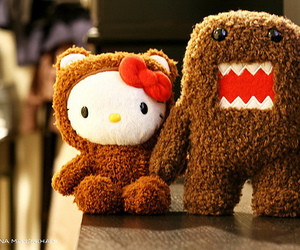 hello kitty, cute, and domo image