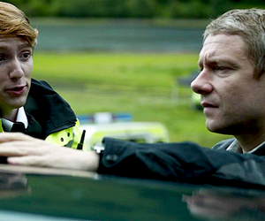 Martin Freeman, sherlock, and luke newberry image