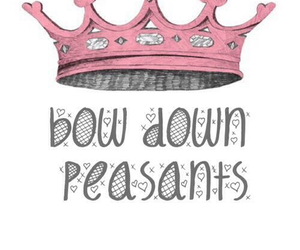 crown, pink, and tumblr image