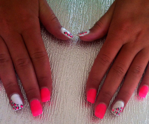 beautiful, leopard, and nails image