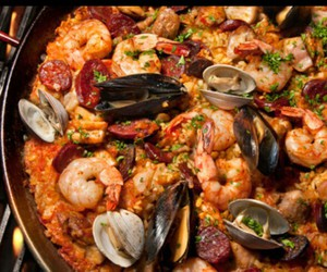 food, spain, and yummy image