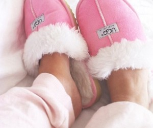 pink, ugg, and shoes image