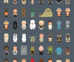 star wars, chewbacca, and darth vader image