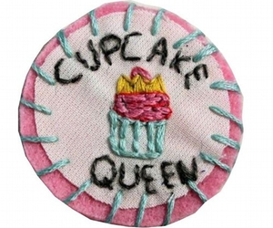 cupcake, Queen, and pink image