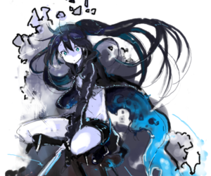 anime and black rock shooter image