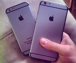 iphone, apple, and iphone 6 image