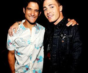 colton haynes, tyler posey, and teen wolf image