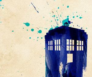 doctor who and tardis image