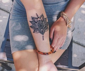 art, cool, and henna image