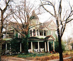 house, beautiful, and tree image
