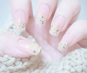 nails, cute, and pretty image