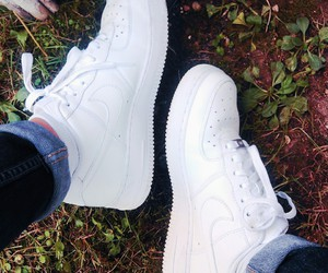 air force, nike, and beautiful shoes image