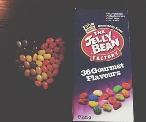 heart, jellybeans, and yummy image