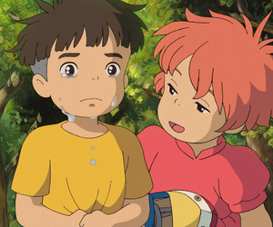 cry, Ponyo, and studio ghibli image