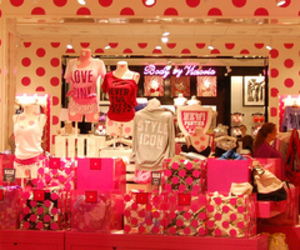 pink, Victoria's Secret, and store image