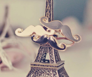 paris, wallpaper, and moustache image