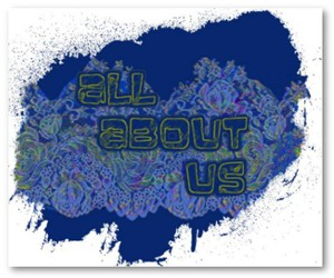 blue, design, and lace image