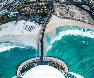 beach, Dubai, and luxury image