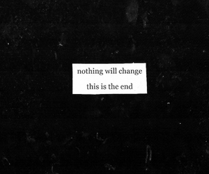end, quote, and life image
