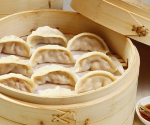 chinese, dumplings, and food image