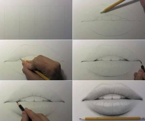 drawings, lips, and how to draw a mouth image