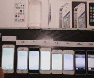 iphone, iphone 4, and iphone 6 image