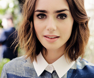 draw and lily collins image
