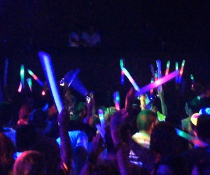 concert, dance, and glow image
