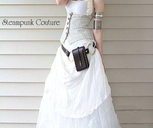 corset, costume, and dress image