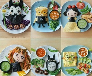 food, maleficent, and creative image