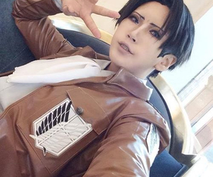 cosplay, levi rivaille, and japan weekend image