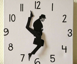 clock, time, and funny image